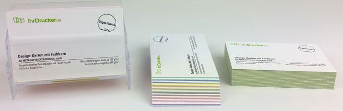 Multiloft Visitenkarten Mit Farbkern In München Drucken